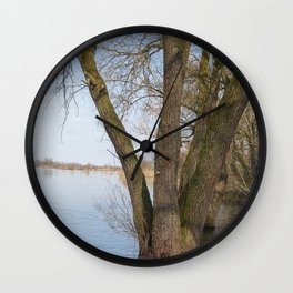 looking into the distance Wall Clock