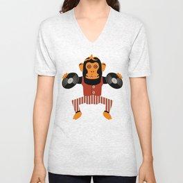 Da Monkey Unisex V-Neck