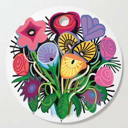 Yelapa Flowers Cutting Board