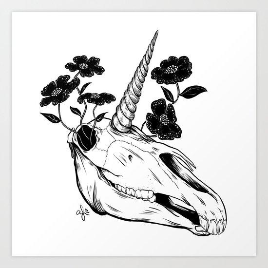The Death of Magic Art Print