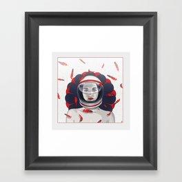 Youmna Framed Art Print