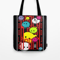 comic Tote Bags featuring COMIC  by _Moj_
