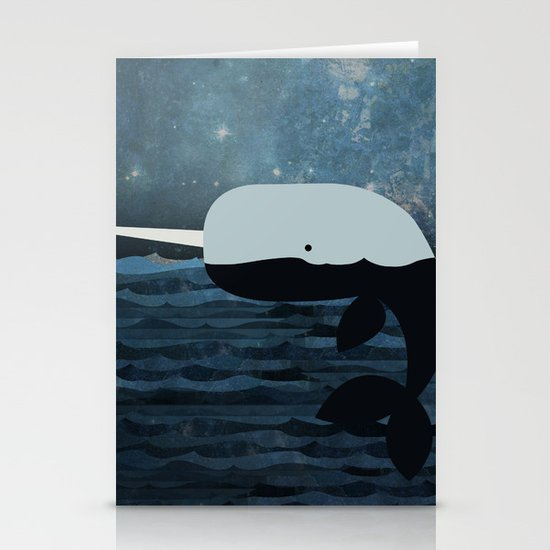 Whale Tales Stationery Cards