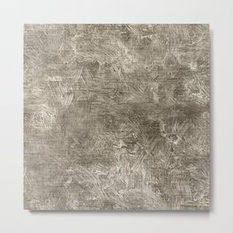 Aluminum Oil Painting Color Accent Metal Print