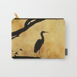 Heron Tapestry Carry-All Pouch