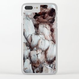 Tree Bark Clear iPhone Case