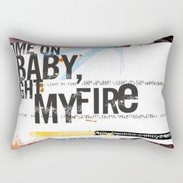 Light My Fire Rectangular Pillow