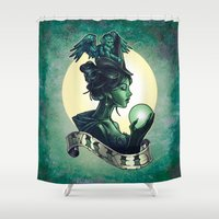 wicked Shower Curtains featuring WICKED by Tim Shumate