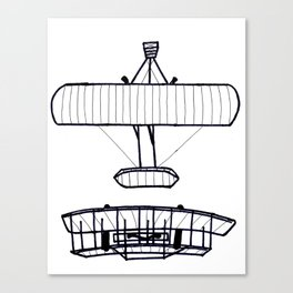 The Wright Brothers' Airplane (FREE UNIT WITH PURCHASE!) Canvas Print