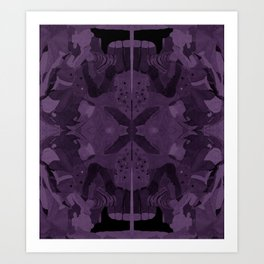absence of purple Art Print