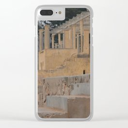 OUALIDIA (Morocco) VII Clear iPhone Case