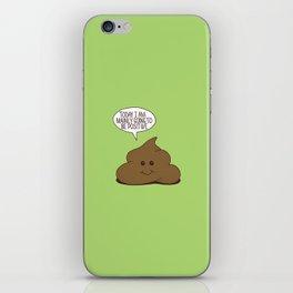 Positive Poop iPhone Skin