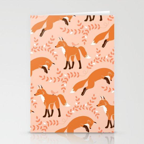 Socks the Fox - Dawn Stationery Cards