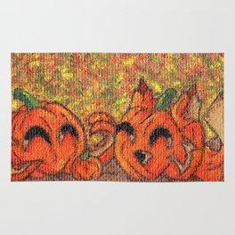 Pumpkin Buddies Rug