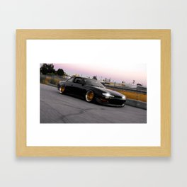 Off Into The Sunset Framed Art Print