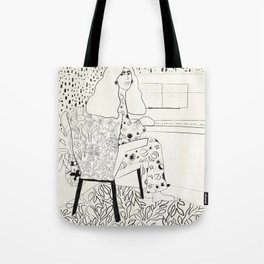 Sound of fingertips Tote Bag