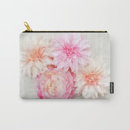 pastel peonies Carry-All Pouch