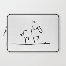 dressage horse rider Laptop Sleeve