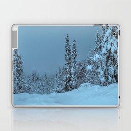 winter in idre fjall sweden Laptop & iPad Skin