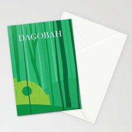 Dagobah Art Stationery Cards