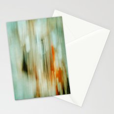 retro blur Stationery Cards