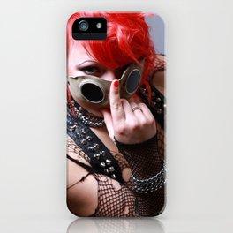 Rot beim Schweißen iPhone Case