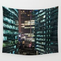 the office Wall Tapestries featuring Office kingdom by nvbr