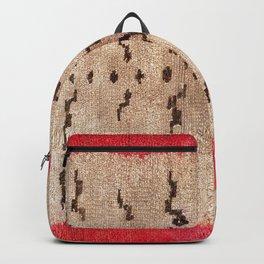 Tsudrukt South Tibetan Tiger Skin Rug Print Backpack