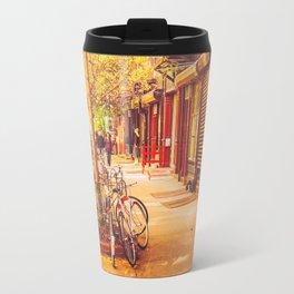 Autumn - East Village - New York City Travel Mug