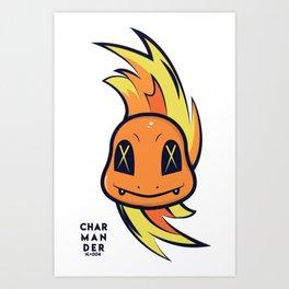 Char-man-der Art Print
