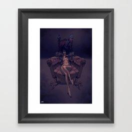 Princesse Chaussette Framed Art Print
