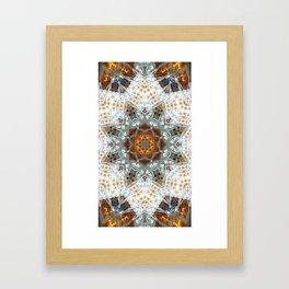 Sagrada Familia - Mandala Arch 1 Framed Art Print