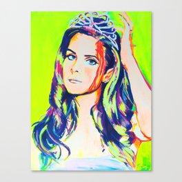 Pop Princess Canvas Print