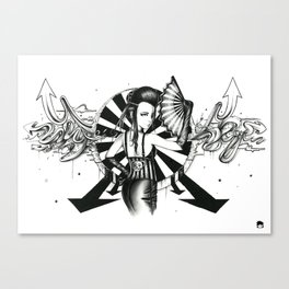 Midnight Carnival Canvas Print