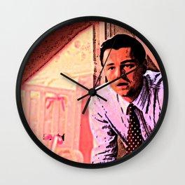 Wolf of Wall Street Wall Clock