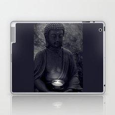 Buddha in the dark Laptop & iPad Skin