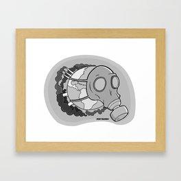 Toxic World Framed Art Print