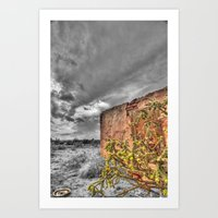cacti Art Prints featuring Cacti by Kent Moody
