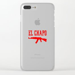 EL CHAPO Clear iPhone Case