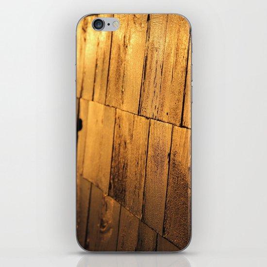 Golden Shingles  iPhone & iPod Skin