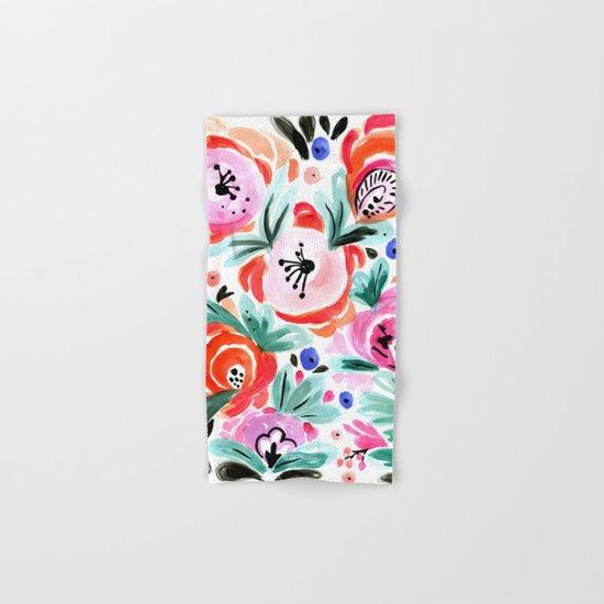 Tropical Floral Hand & Bath Towel
