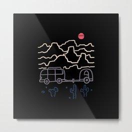 Van Desert Metal Print