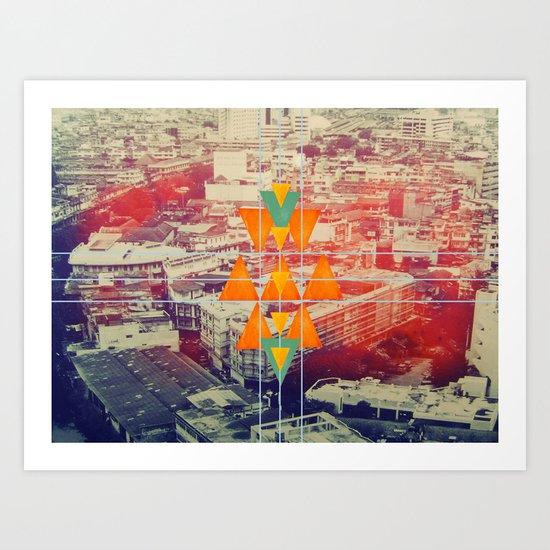 try angles Art Print