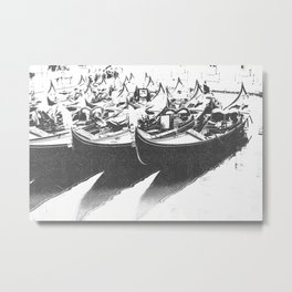 Gondole Metal Print