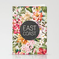 tupac Stationery Cards featuring East Coast by Text Guy
