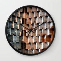 shadow Wall Clocks featuring Shadow by Avigur