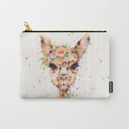 Little Llama Carry-All Pouch