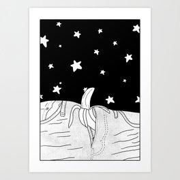 She will take you to the stars! Art Print