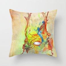 Turning Light Throw Pillow