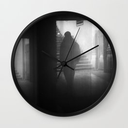Meet the darkness in your mind Wall Clock